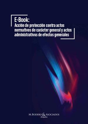Accion de proteccion contra actos normativos