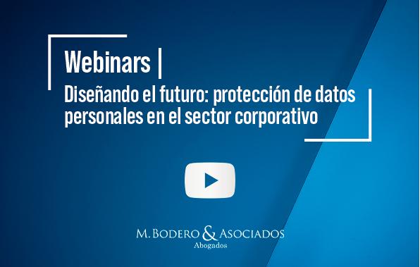 webinar protección de datos personales
